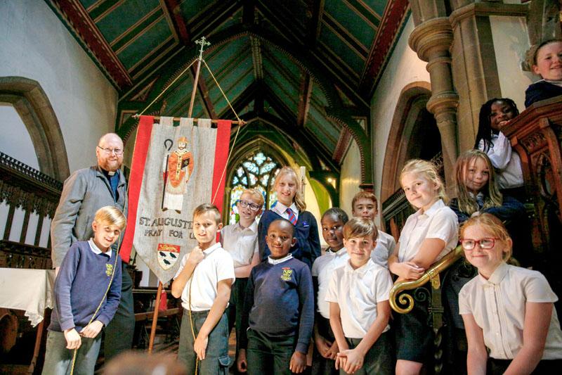Church school – St Augustine's C Of E (VA) Junior School Peterborough UK